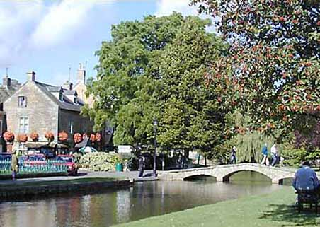 Bourton on the Water in the Cotswolds